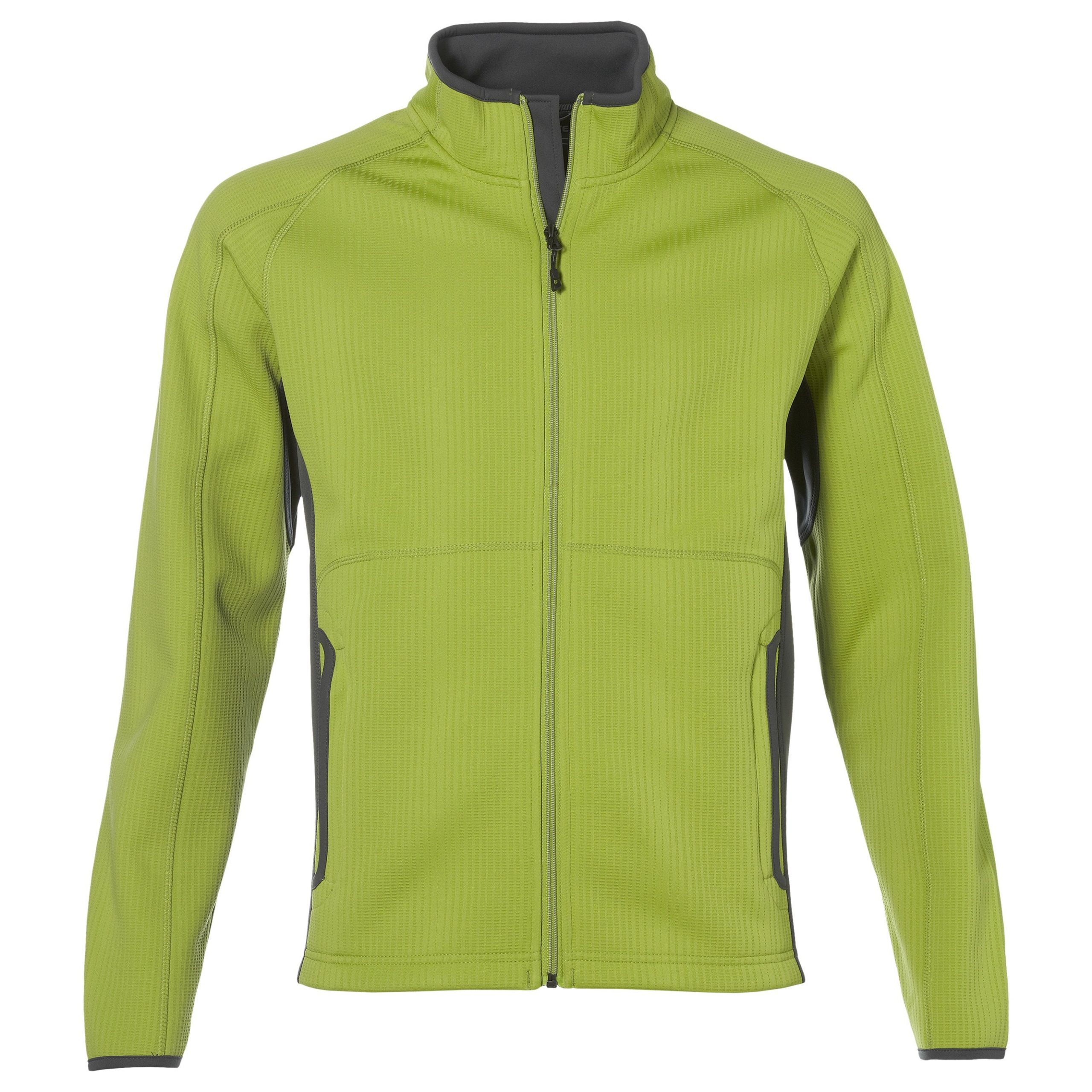 Mens Ferno Bonded Knit Jacket - Lime Only