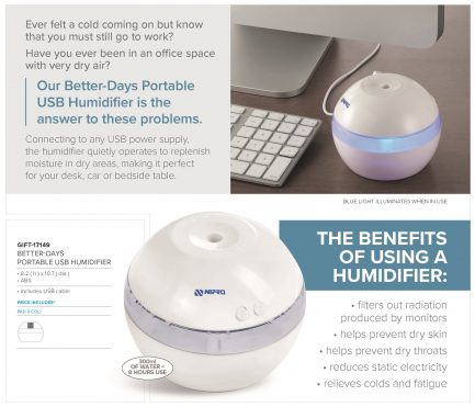 Better-Days Portable USB Humidifier