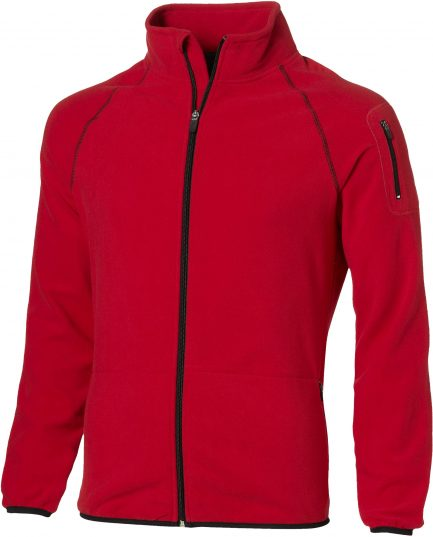 Mens Ignition Micro Fleece Jacket - Red Only