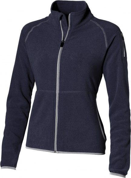 Ladies Ignition Micro Fleece Jacket - Navy Only