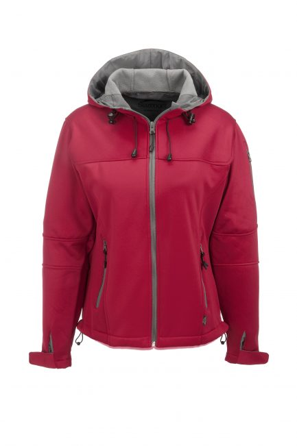 Ladies Catalyst Softshell Jacket - Red Only
