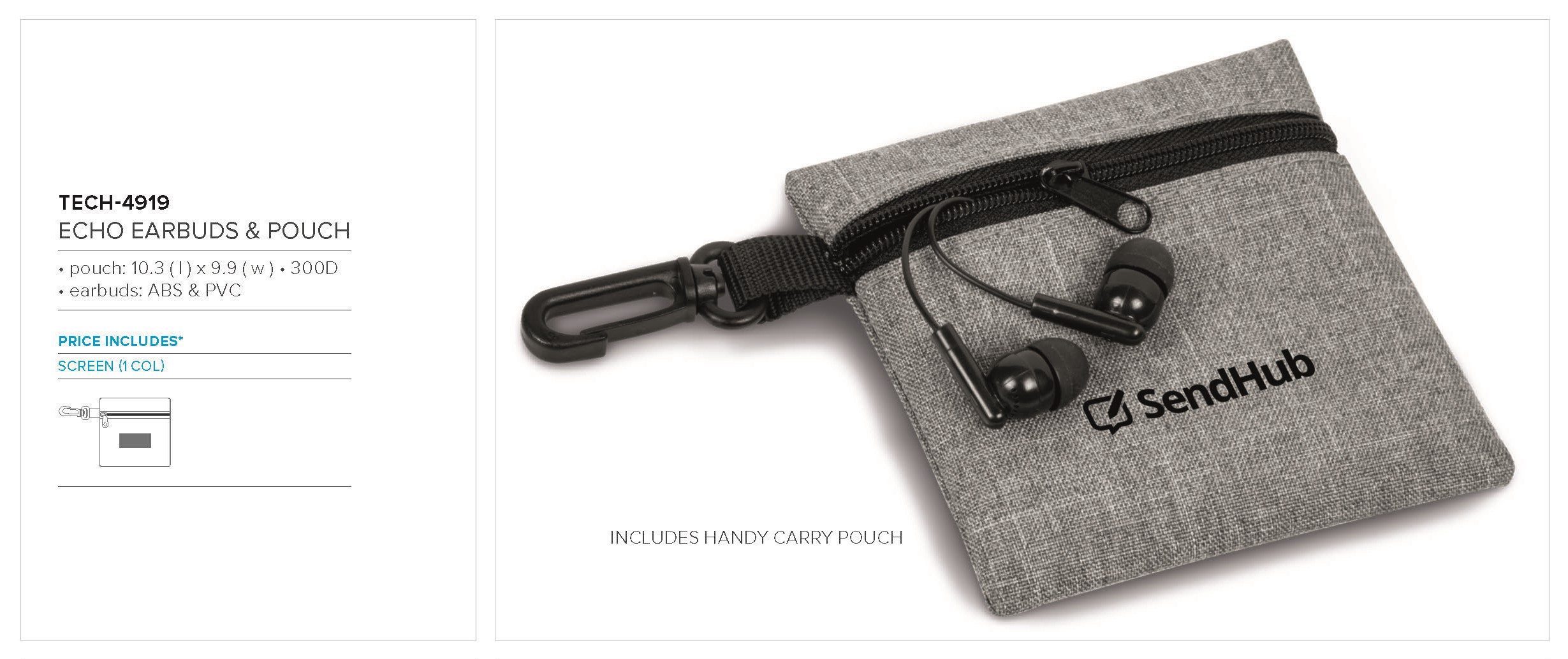 Echo Earbuds & Pouch