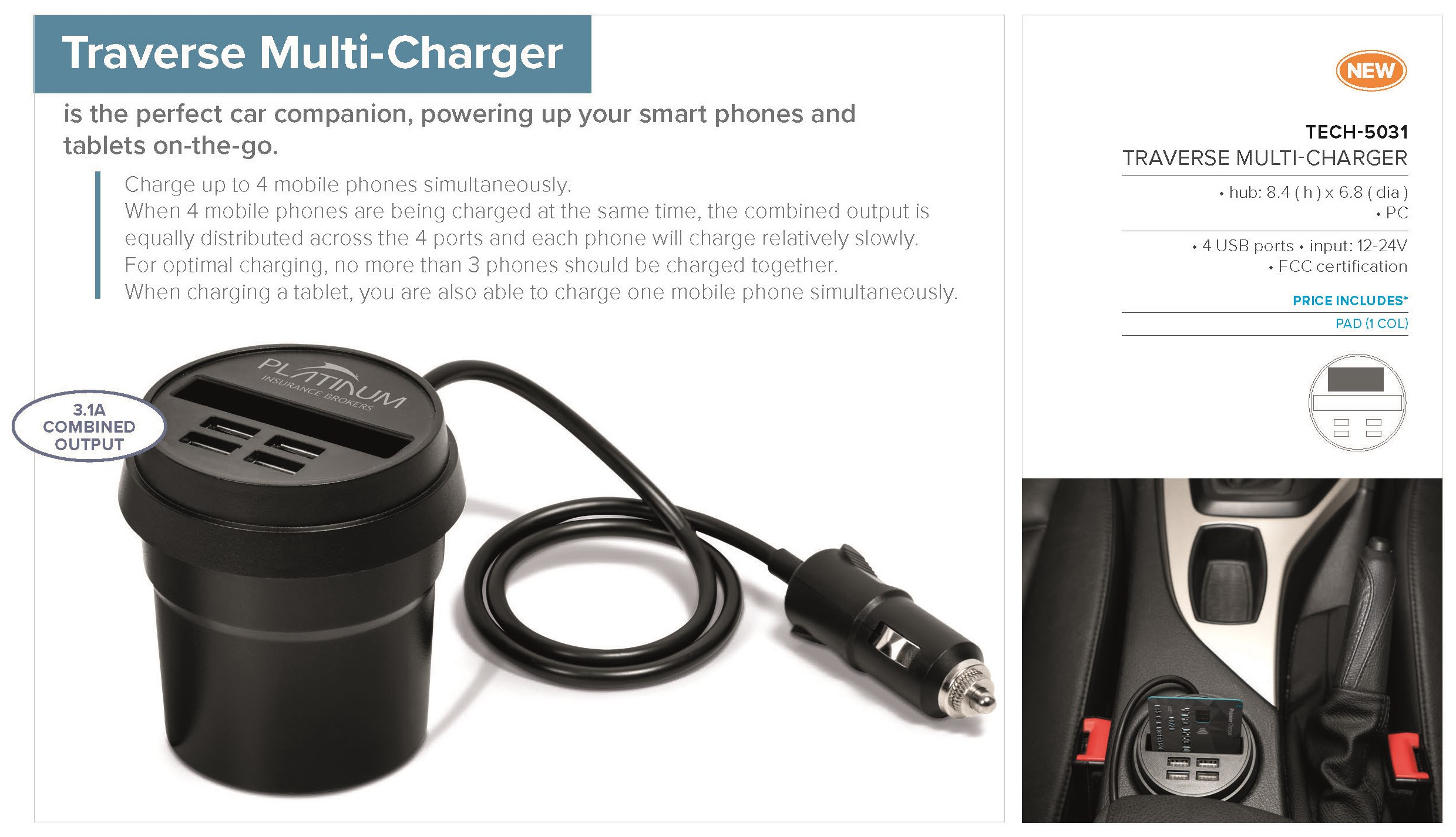 Traverse Multi-Charger