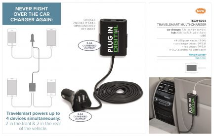 TravelSmart Multi-Charger