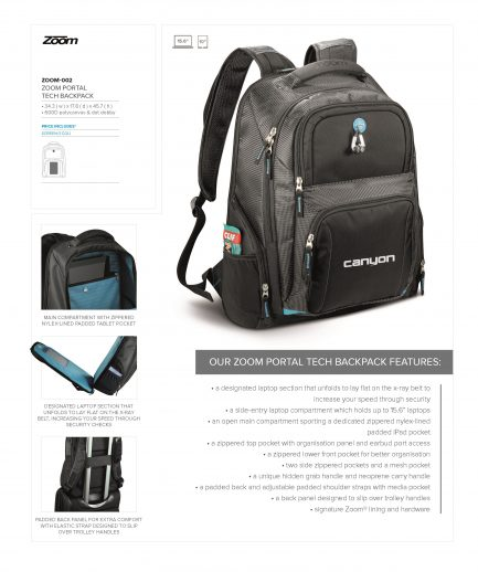 Zoom Portal Tech Backpack