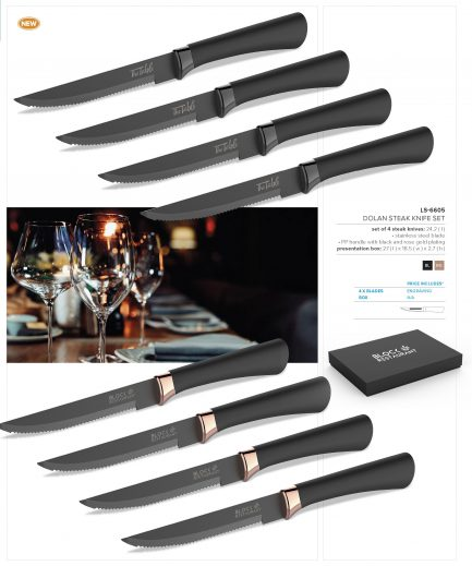 Dolan Steak Knife Set