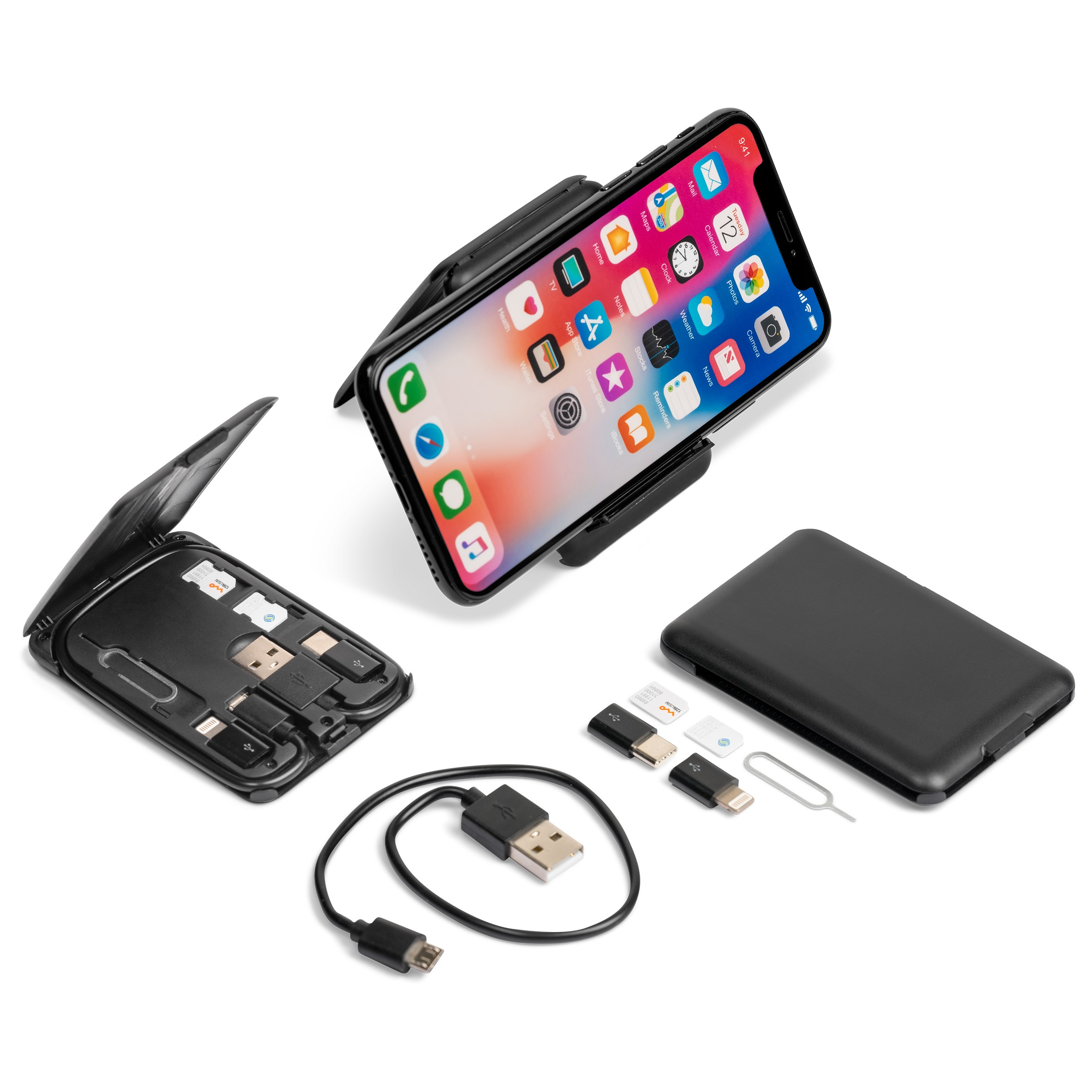Abagnale Cable Case & Wireless Charger