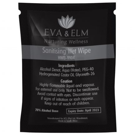 Eva & Elm Hereford Sanitising Wet Wipe (Single)