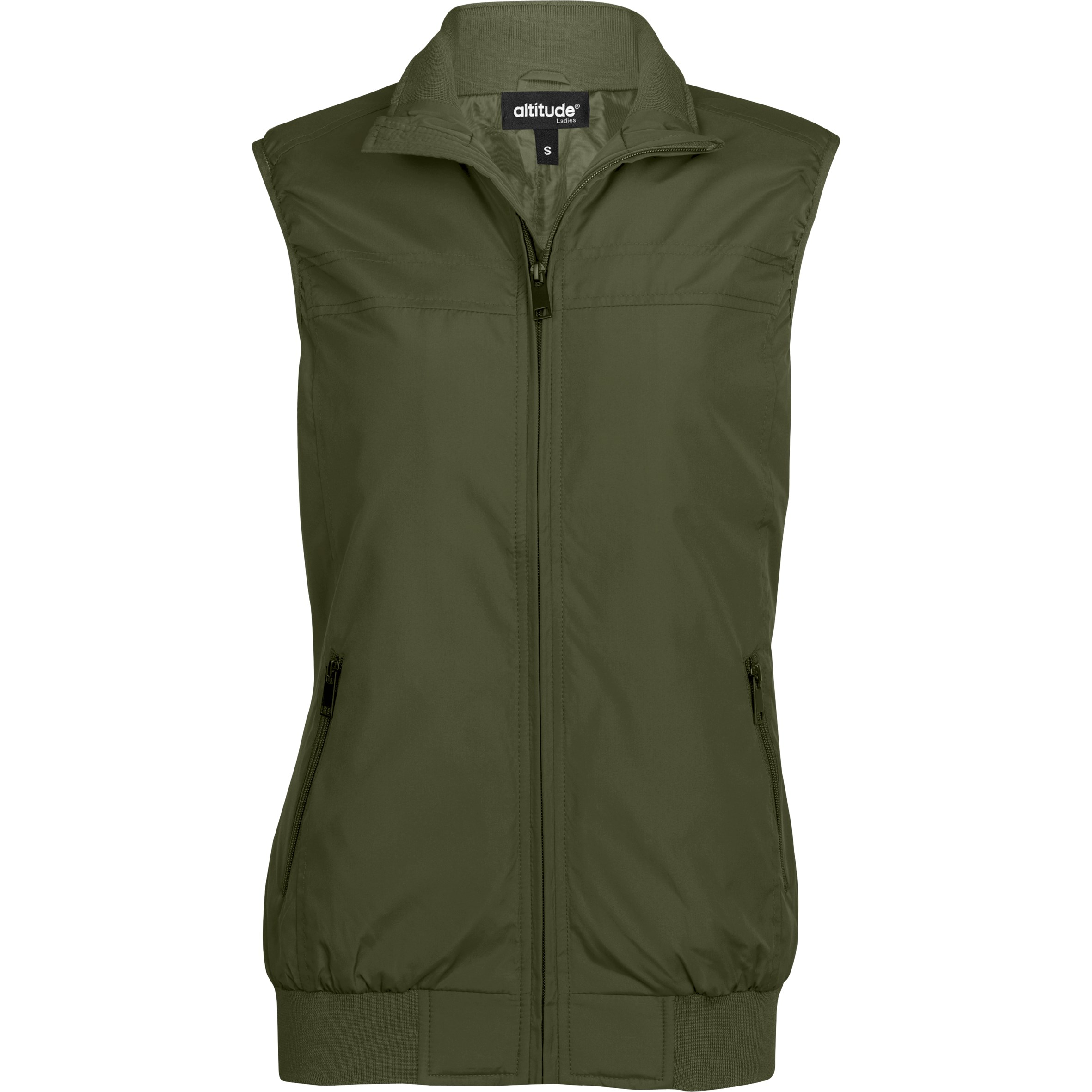Ladies Colorado Bodywarmer - Military Green Only