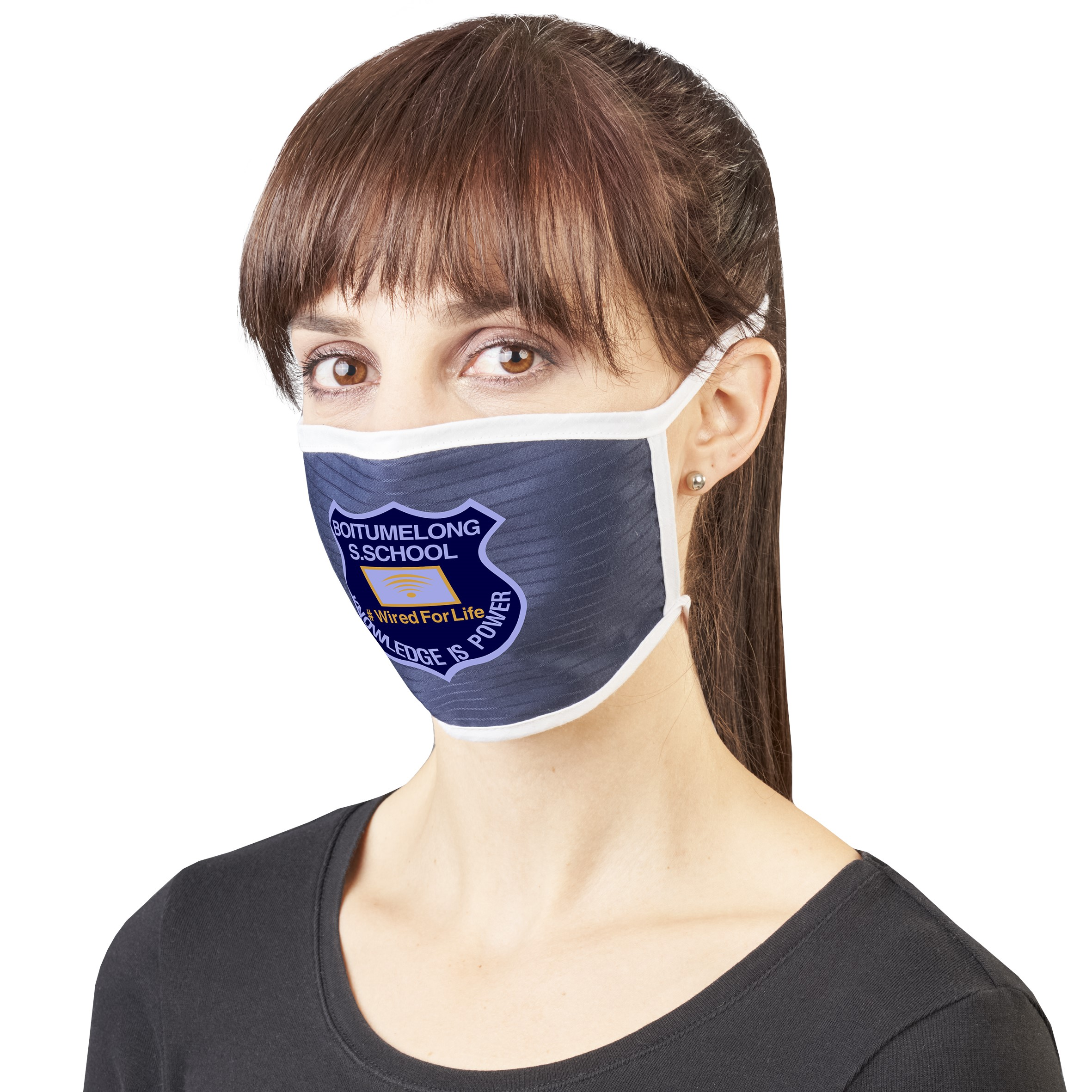 Bayport Double Layer Adults Face Mask (component)