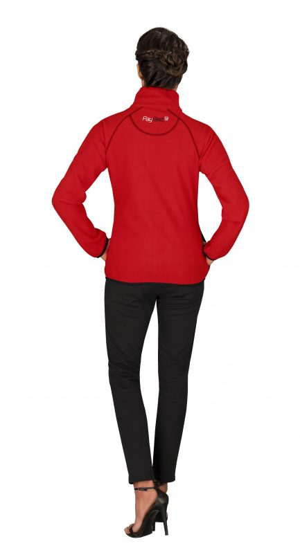 Ladies Ignition Micro Fleece Jacket - Red Only